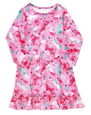 NWT Gymboree Girls Unicorn nightgown pink girls size 2T,3-4,7/8,10/12
