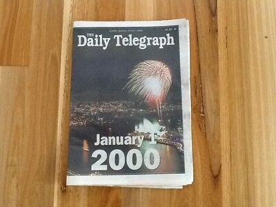 Newspaper - The Daily Telegraph January 1st 2000