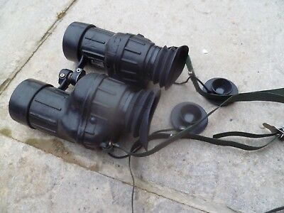 british army 1980 dated AVIMO 7X42 binoculars,vgc