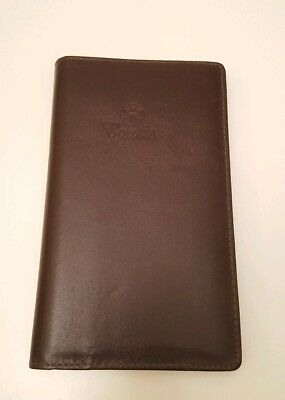 Coutts- New Real Leather Wallet Diary Pouch Address and Pen