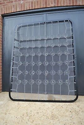 Folding 5ft King size Sprung bed base ideal for Antique Brass and iron Bedstead