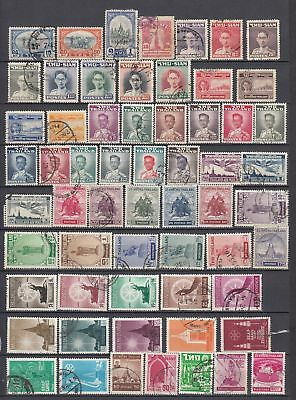 Siam/Thailand - nice old Lot of fine used Stamps high CV   (22521
