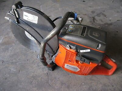 "Husqvarna K760 Gas Powered 14"" Concrete Cutt-Off Saw with Diamond Blade"