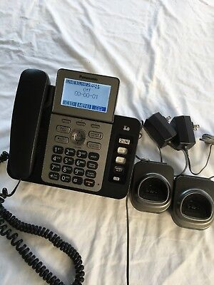 Panasonic KX-TG9471B 2-Line Corded/Cordless Phone with Digital Answering System