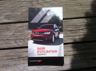 DODGE Journey 2013 - Owner's Manual - IN FRENCH - XF