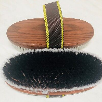 Large Body Brush Grooming Horse Riding Care Grooming ~ Set Of 2