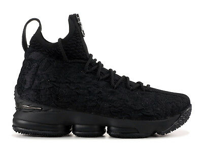 c081966c3d67 Nike LeBron 15 XV Kith Ronnie Fieg Perf Suit of Armor Black Size 12.5  AJ3936-