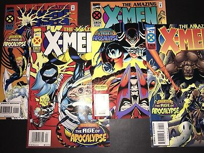 Amazing X-Men #1-4 Marvel 1995 Age Of Apocalypse