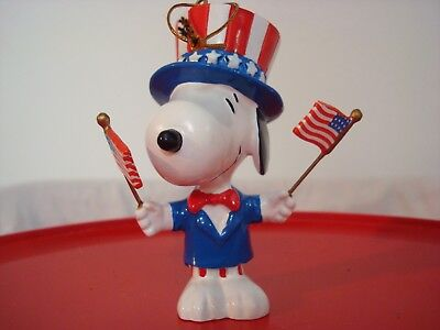 Peanuts Snoopy 4th Of July Independence Day Ornament 334