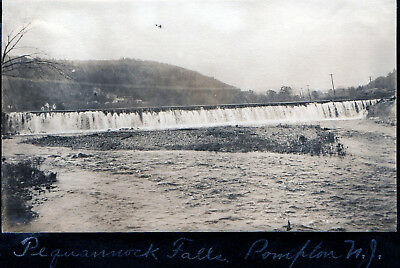 The Pequannock Falls - Pompton New Jersey - 1906 Photo