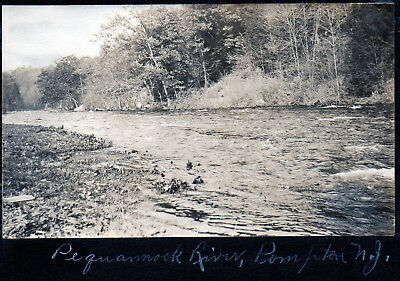 The Pequannock River - Pompton, New Jersey - 1906 Photo