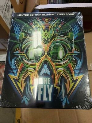 The Fly - Limited Edition Best Buy Steelbook (Blu-ray) BRAND NEW!!