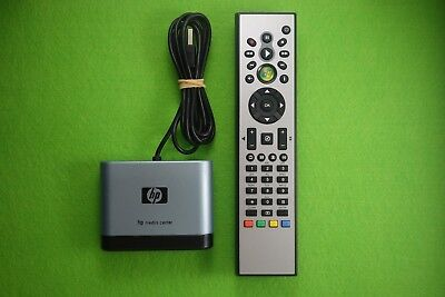 HP Windows Media Remote and USB Receiver - Free Postage !!