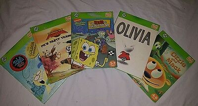 LEAP FROG TAG - Lot Of 5 Books Inc. 4 Hardcover & 1 Soft cover - (Books Only)