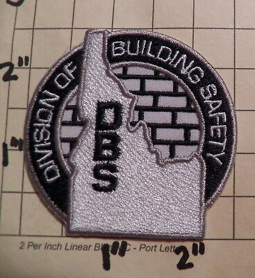 IDAHO Division of Building Safety (DBS) Patch              ***NEW***