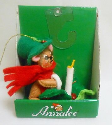 "Annalee 3"" Candle Mouse Christmas Ornament Issued in 2015"