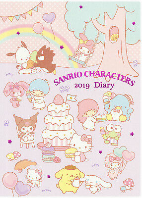 Sanrio Characters 2019 Diary / Planner / Schedule Book