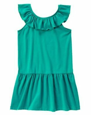 NWT Gymboree Mermaid Party Girls Sz 5 7 Teal Ruffle Dress