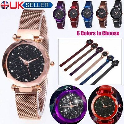Starry Sky Watch Magnet Strap(6 Colors)For Women Gift Uk Hot Deal M1D