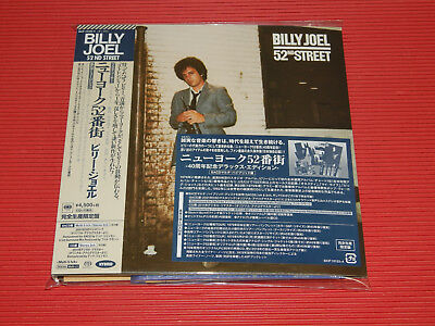 BILLY JOEL 52ND STREET 40TH ANNIVERSARY JAPAN 5.1ch Hybrid SACD EP SIZE SLEEVE