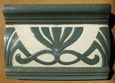 Jugendstil Fliese art nouveau tile tegel V&B Mettlach ? schön rar top
