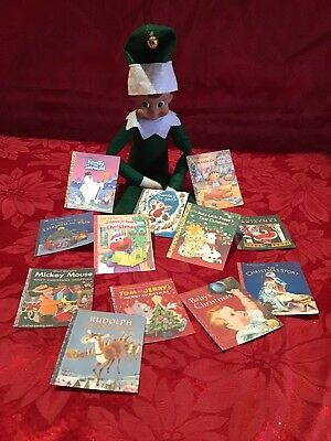 Handmade Elf Accessories/Golden Books Christmas Compatable with Elf on the Shelf