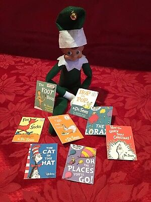 Handmade Xmas Elf Accessories/Dr Suess Books 1 Compatable with Elf on Shelf