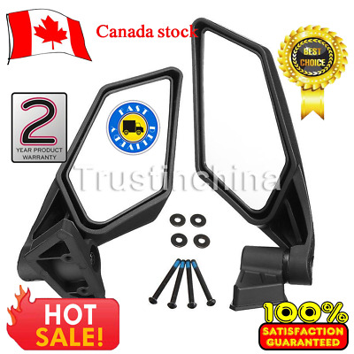 2Pcs Racing Side Mirrors Set For Can-Am Maverick X3 Off-road 2017 2018 715002898