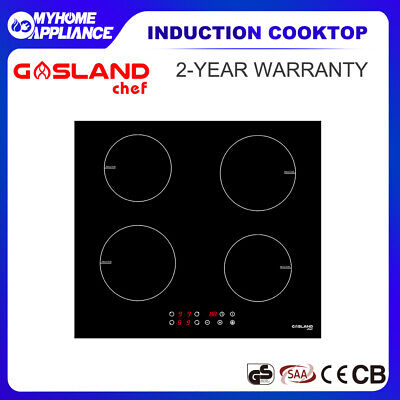 GASLAND chef Induction Cooktop Ceramic Glass 4 Zones Touch Control Kitchen 60cm