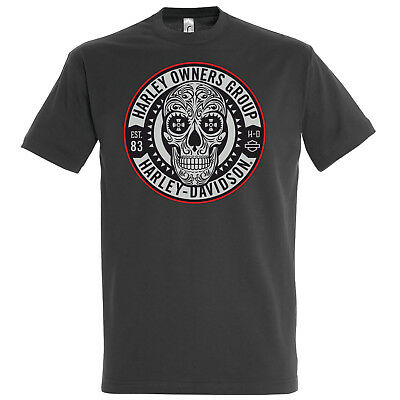 HARLEY-DAVIDSON Motorcycles HD | OWNERS GROUP | T-Shirt | NEU L XL XXL 3XL 4XL