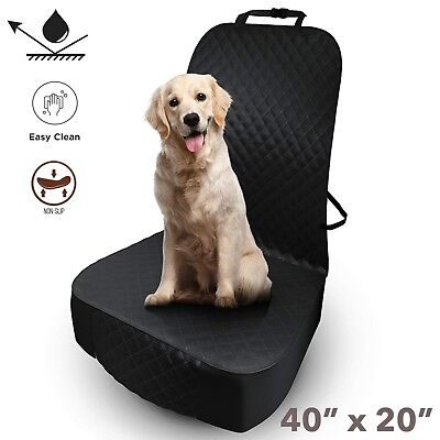Dog Seat Cover Pet Car Front Protector Waterproof NonSlip Vehicle Travel Protect