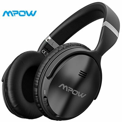 Mpow H5 Active Noise Cancelling Headphones Over Ear Wireless Bluetooth Headphone