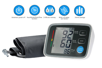 Professional Upper Arm Automatic Digital Blood Pressure Monitor U80EH 2017 Model