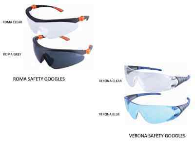 Protective Safety Eyewears Goggles Scratch Resistant Anti Fog Glasses Spectacles