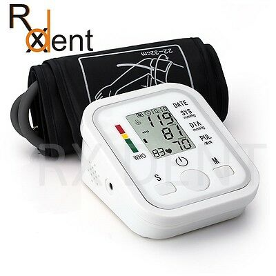 Fully Automatic Accurate Digital Blood Pressure Monitor Upper Arm 99 Memories
