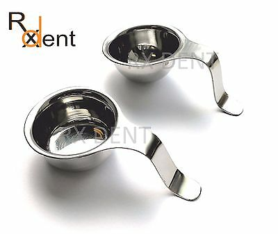 Dental Implant Bone Mixing Cup Amalgam Mixing Cup handle to hold in Finger Cup