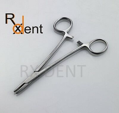 Mayo Hegar Needle Holder 14cm, Suture Training, Dental, Surgical Vet Instruments