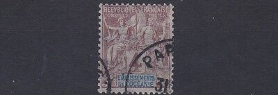 French Colonies French Polynesia 1892  Sg 3  4C  Purple & Brown   Mh