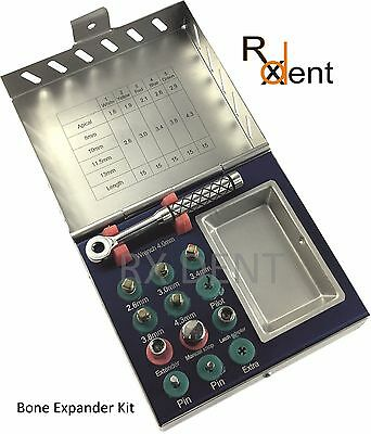 Comdent® Bone Expander Compression Kit For Implant Surgery Sinus Instruments