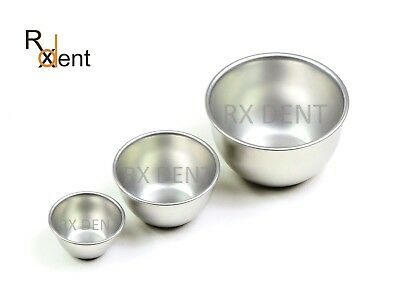 Solution Bowls 40/60/80mm, Dental Implants Medicine Lab German Stainless Steel
