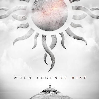 When Legends Rise by Godsmack Audio CD Rock Pop Discs: 1 2018 NEW FREE SHIPPING