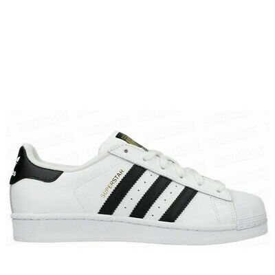 the latest 88298 29bfb Adidas Superstar J C77154 gold bianco con fasce nere