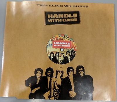 TRAVELING WILBURYS Handle With Care PROMO CD single PRO16327