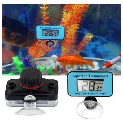 Digital LCD Waterproof Fish Aquarium Water Tank Temperature Thermometer Meter c