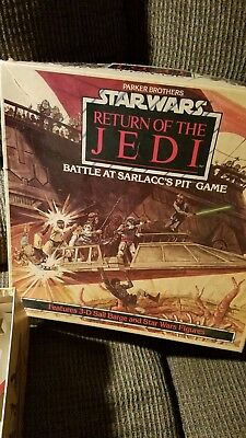 Star Wars Return Of The Jedi Battle At Sarlaccs Pit Game