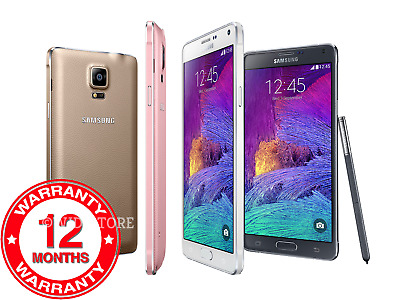 Samsung Galaxy Note 4 N910F - 32GB - (Unlocked) Smartphone Various Colours