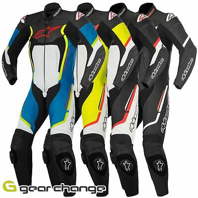 Alpinestars Motegi V2 Leather Motorcycle Motorbike One Piece Suit