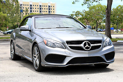2016 Mercedes-Benz E-Class ** $74K MSRP! FULLY LOADED & LOW MILES! ** 2016 Mercedes E-Class E400 E550 BMW 435i 428i convertible cabriolet 640i 650i