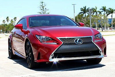 2015 Lexus RC ** RARE COLOR & FULLY LOADED! WOW! ** 2015 Lexus RC350 RC350 Coupe AWD RC 2016 2014 BMW 4 series 435i 350 F Sport