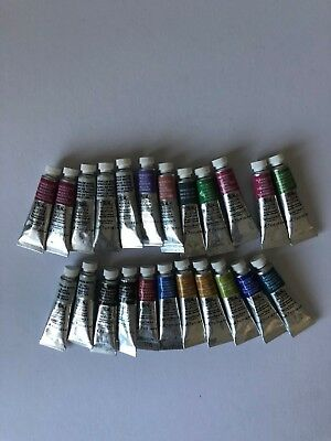 Winsor & Newton Professional Water Colour Paints..23 in total 5 ml